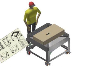 3D CAD Design Tote