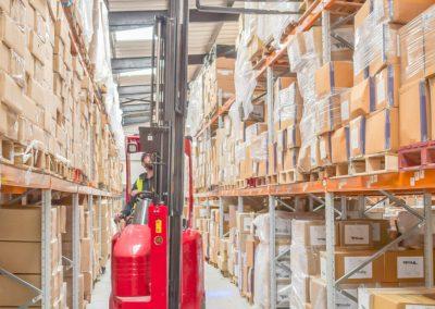 Narrow Aisle Racking Warehouse